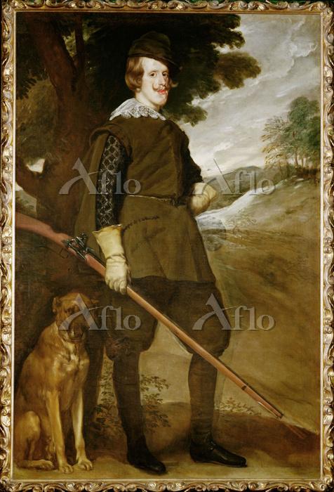 ベラスケス 「狩猟服姿のフェリペ4世」
