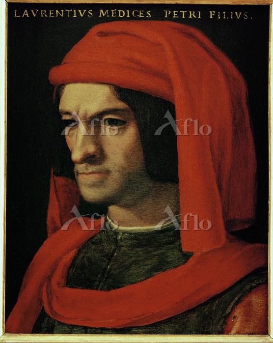 アーニョロ・ブロンズィーノ 「ロレンツォ・デ・メディチの肖像・・・