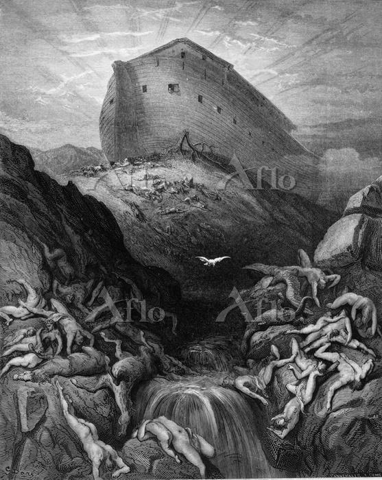 ギュスターヴ・ドレ 「ノアの箱舟」