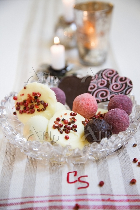 Pralines and confectionary in ・・・