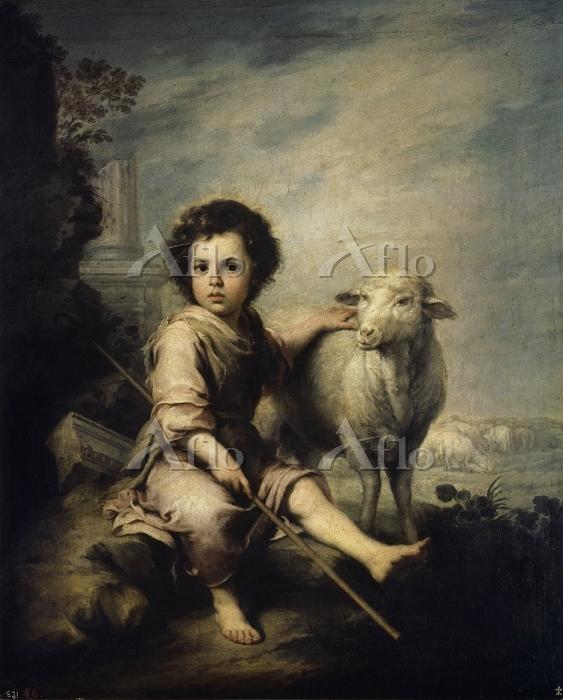 ムリーリョ 「善き牧者としての幼児キリスト」