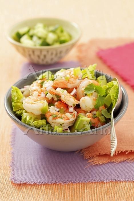 海老のグリーンサラダ
