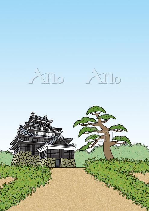 島根県 国宝 松江城