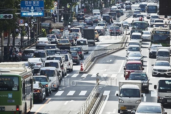 東京都 渋滞