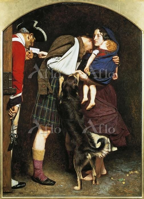 ミレイ 「1746年の放免令」
