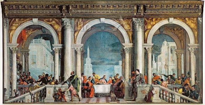 ヴェロネーゼ 「レヴィ家の饗宴」