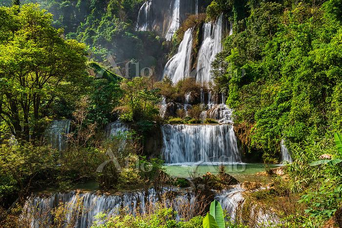 タイ チェンマイ ティーロースー滝