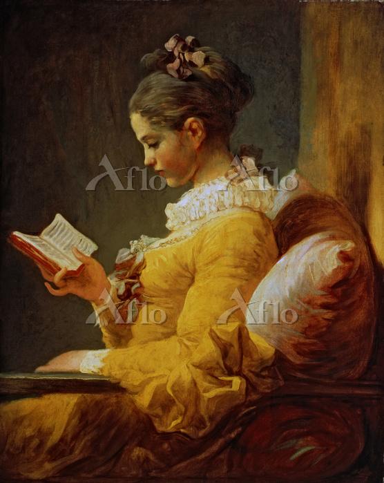 フラゴナール 「読書する女(読書する娘)」
