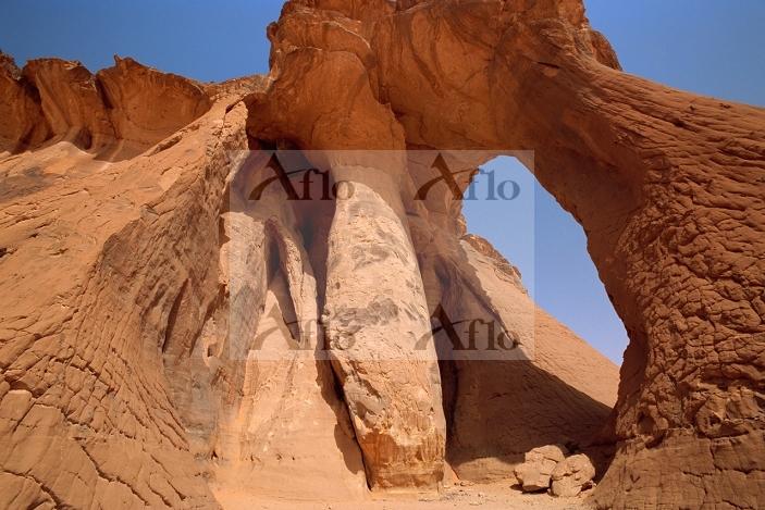 リビア・サハラ アカクス山地