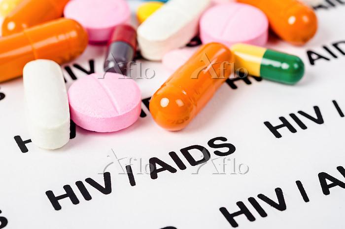 抗HIV薬イメージ