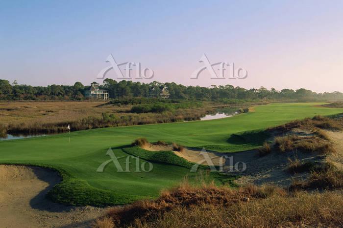キアワアイランド・ゴルフリゾート オーシャンコース 13番ホ・・・