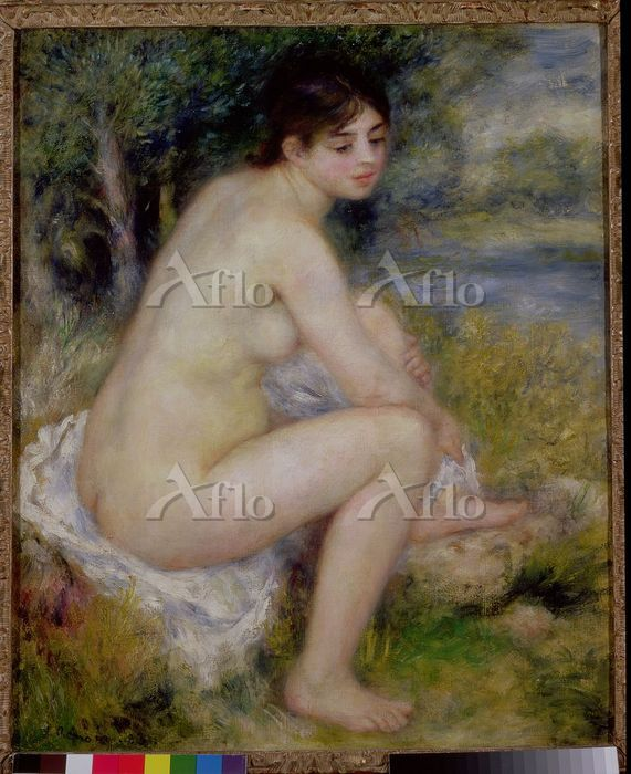 ルノワール 「風景の中の裸婦」
