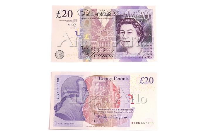 イギリス紙幣 20ポンド