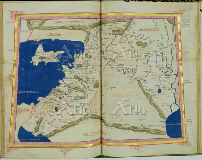 フェニキアの地図 (C15th)