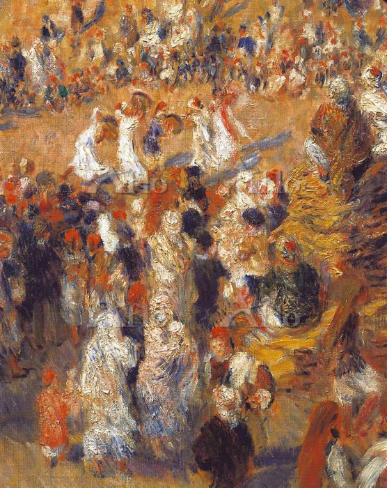 ルノワール 「アルジェのアラブの祭日(モスク)」